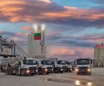 Mischanlagen: Zwei Betonmischanlagen für eine bulgarische Hafenstadt