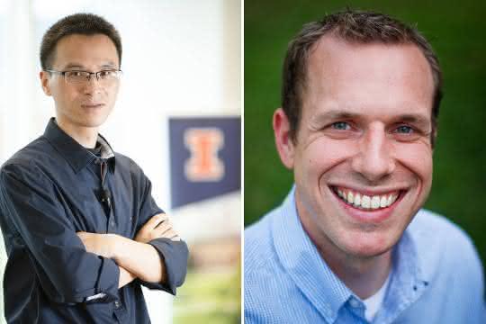 Ting Lu und Stephen Techtmann