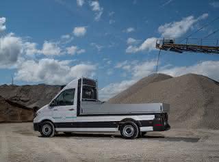 Neuer MAN-Transporter: Elektrisch auf die Baustelle