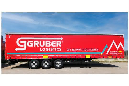80 Kögel Trailer für Gruber Logistics