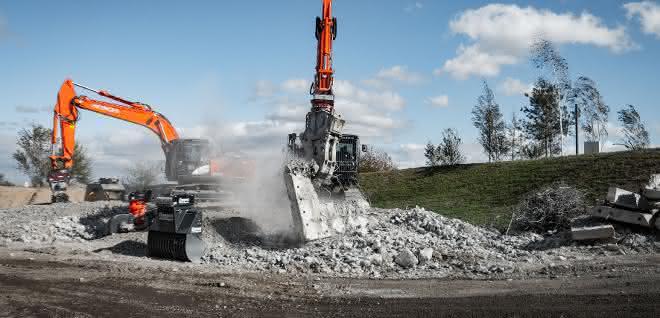 """Eröffnung der Coreum Expo """"Abbruch und mineralisches Recycling"""""""
