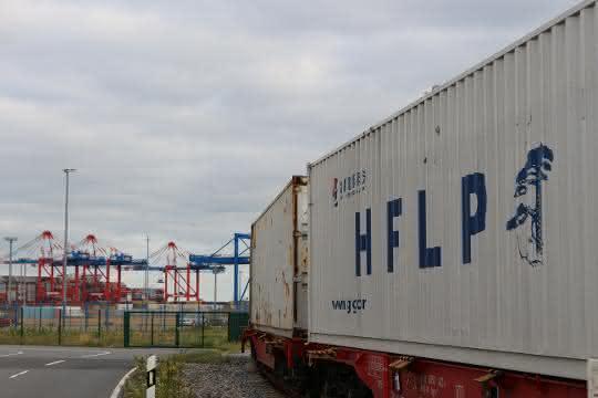 Zweiter Containerzug aus Hefei im JadeWeserPort abgefertigt