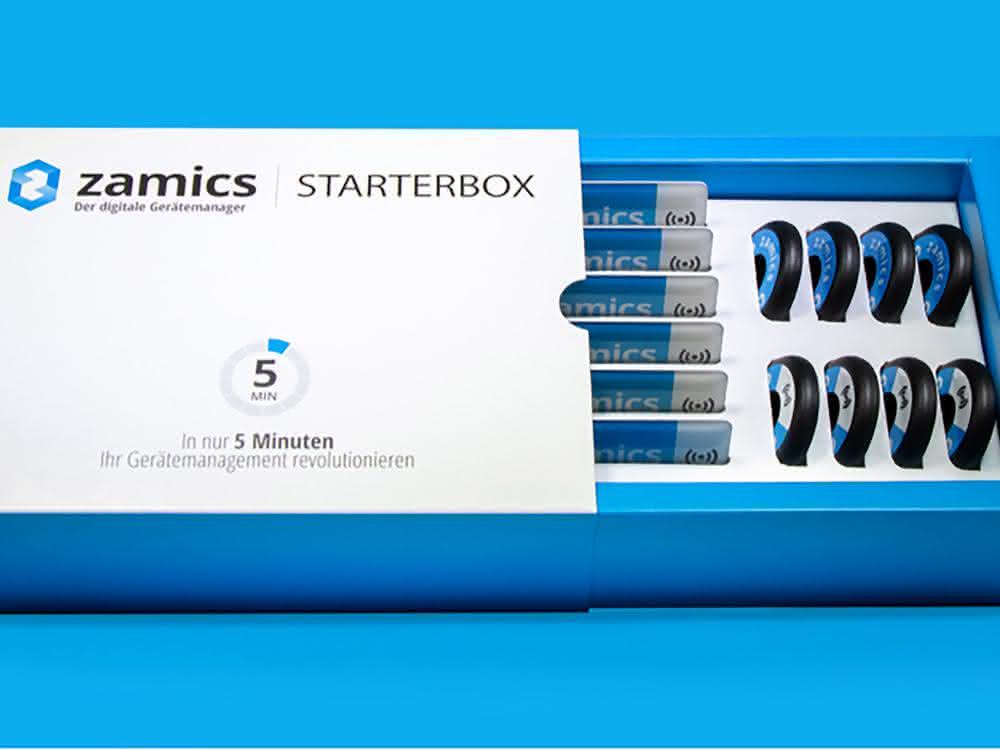 Digitales Gerätemanagement mit der zamics Starterbox