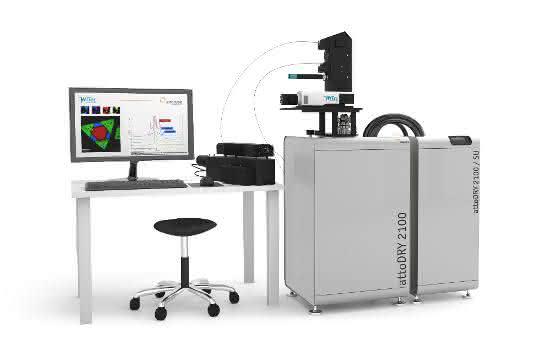 Raman-Mikroskop cryoRaman