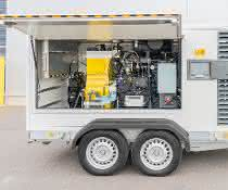Neues Hochdruckpumpen-Aggregat: Hammelmann stellt mobiles Pumpenaggregat vor