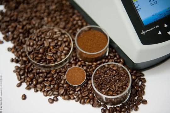 Applikation Kaffee-Proben