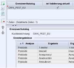 Screenshot aus dem LIM-System