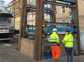 Tiefbau: Linearverbau bei Münchner Großprojekt
