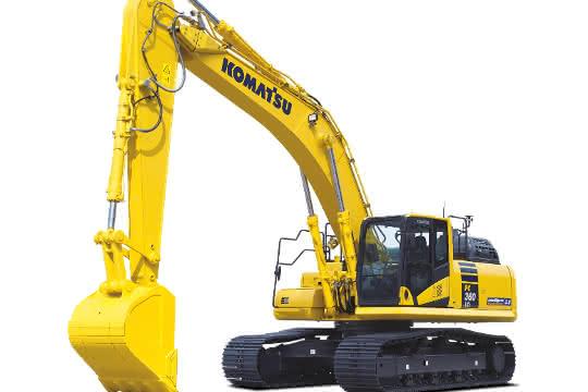 Komatsu Europe stellt neue Hydraulikbagger vor