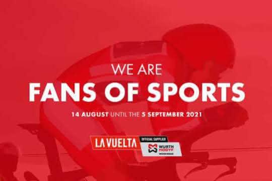 Würth Modyf ist offizieller Ausrüster der La Vuelta 2021