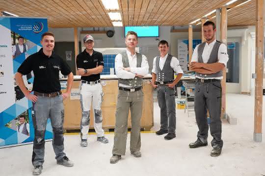 Europameisterschaft der Berufe: Deutschlands beste Bauhandwerker bereiten sich auf EuroSkills 2021 vor