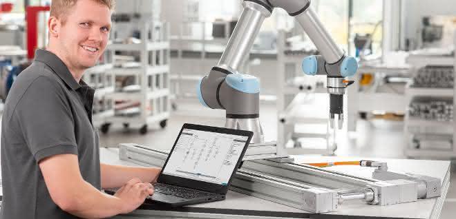 Kombination von Lineartechnik und Robotik