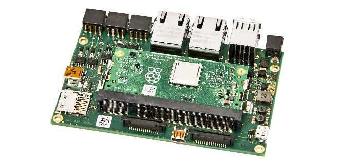 Raspberry Pi: Kompakter Rechner  für die Industrie