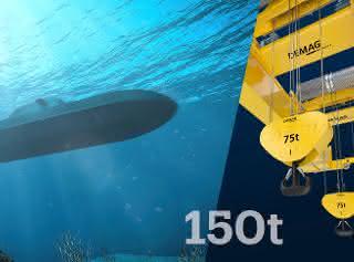 thyssenkrupp Marine Systems erteilt Demag Riesenauftrag