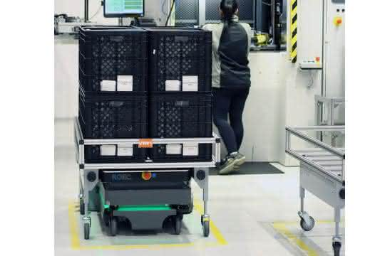 Autonomer mobiler Roboter