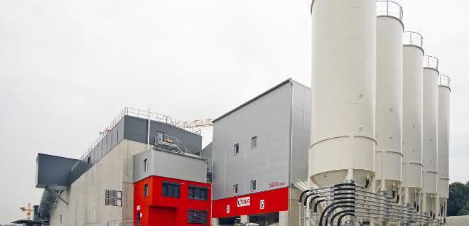 Beton-Mischwerk: SBM Betontechnologie in der Westschweiz im Einsatz
