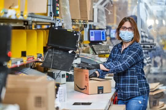 Amazon stellt über 10.000 Saisonkräfte in Deutschland ein