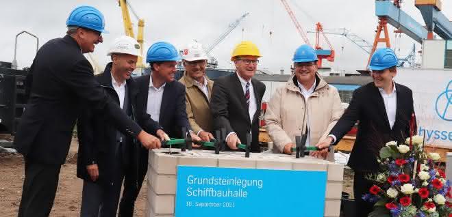 Züblin realisiert Schiffsbauhalle in Kiel