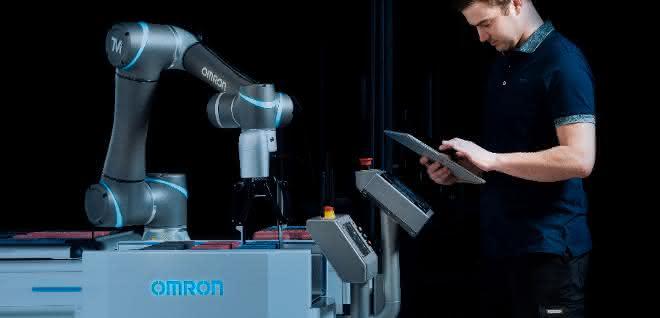 Omron: Autonom agierende mobile Roboter im Fokus