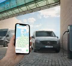 Mercedes-Benz Vans bietet Ladeflatrate für Elektrotransporter