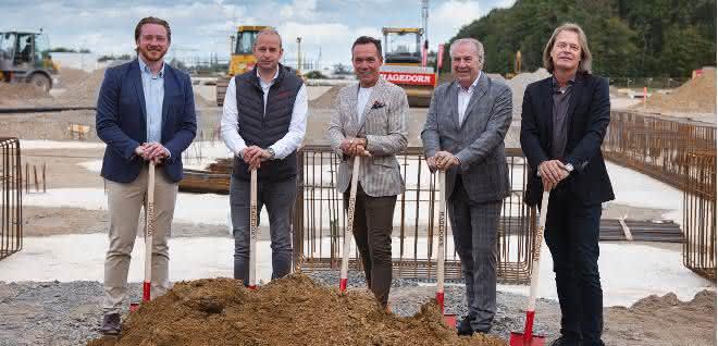 Bauen auf einer Mülldeponie: Hagedorn baut neue Niederlassung für mehr als 200 Mitarbeiter in Köln