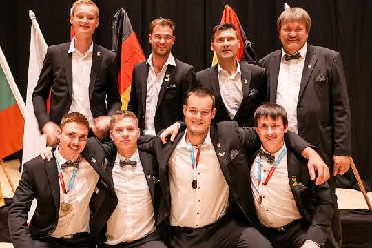 EuroSkills 2021: Nationalteam Baugewerbe holt in Graz drei Medaillen