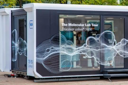 mobiler Ausstellungsraum