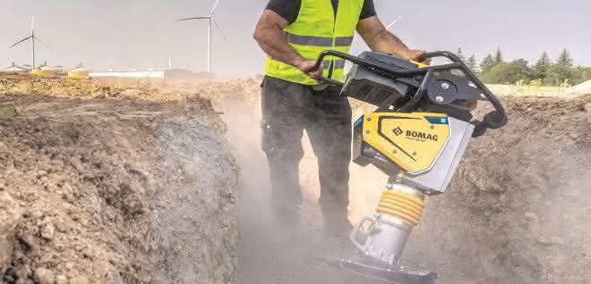 Emissionsfreie Baumaschinen: Bomag präsentiert neuen Akku-Stampfer