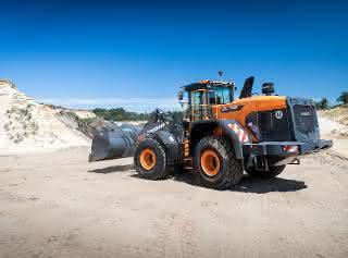 Neue Maschinen-Generation: Premiere in der Grube für neuen Doosan-Radlader