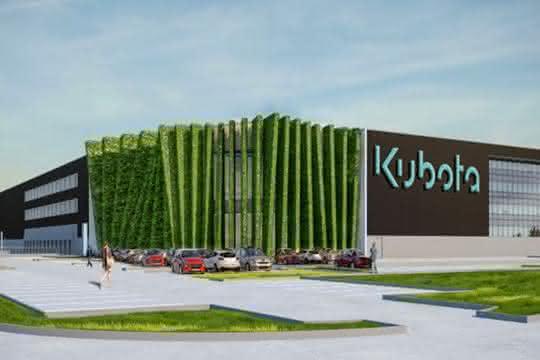 """""""Ein großer Schritt nach vorn"""": Neues Auslieferungszentrum für Kubota"""