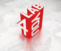 Bild mit lab4you-Logo