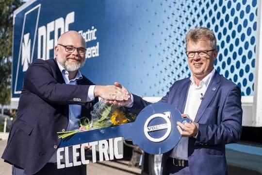 100 Elektro-Lkw: Rekordauftrag für Volvo Trucks