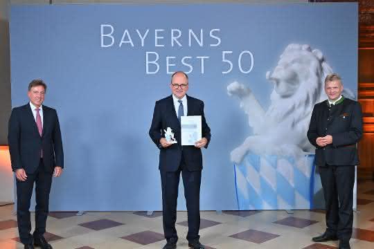 Auszeichnung verliehen: Meiller unter den wachstumsstärksten Mittelständlern in Bayern