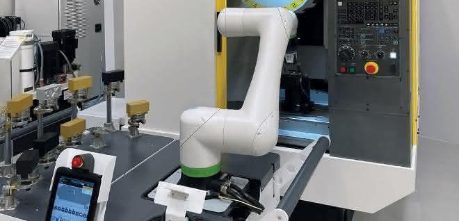 Roboterbeladung