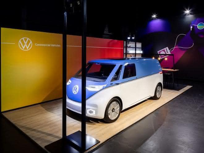 Start-ups und Volkswagen Nutzfahrzeuge stellen umweltfreundliche Ideen vor