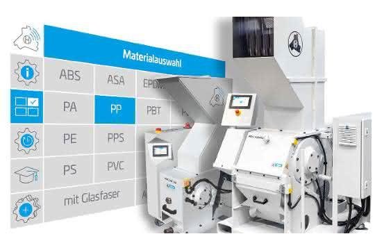 Für alle Schneidmühlen von Hellweg ist die digitale Smart-Control-Steuerung verfügbar. (Bild: Hellweg Maschinenbau)
