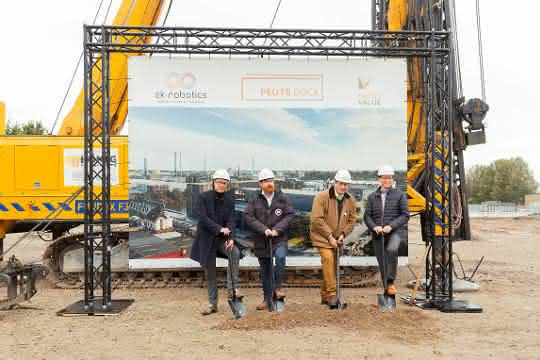 Baubeginn des neuen Hauptsitzes von EK Robotics