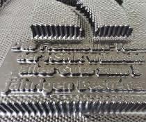 3D-gedrucktes, scharfkantiges Inlet.