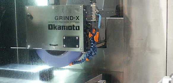 Okamoto Schleifmaschine mit Grind-Bix