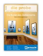 """Produkt-News: Neue Ausgabe des RETSCH Kundenmagazins """"die probe""""!"""
