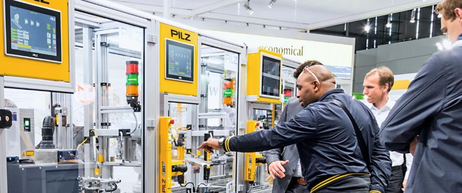 Pilz zeigt Automatisierungslösungen für die Smart Factory