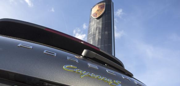 Porsche Photovoltaik-Pylon Berlin