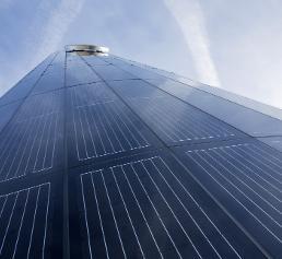 Photovoltaik-Turm Porsche