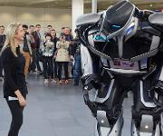 Roboter Nox auf der Productronica