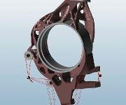 CAD Modell Radträger