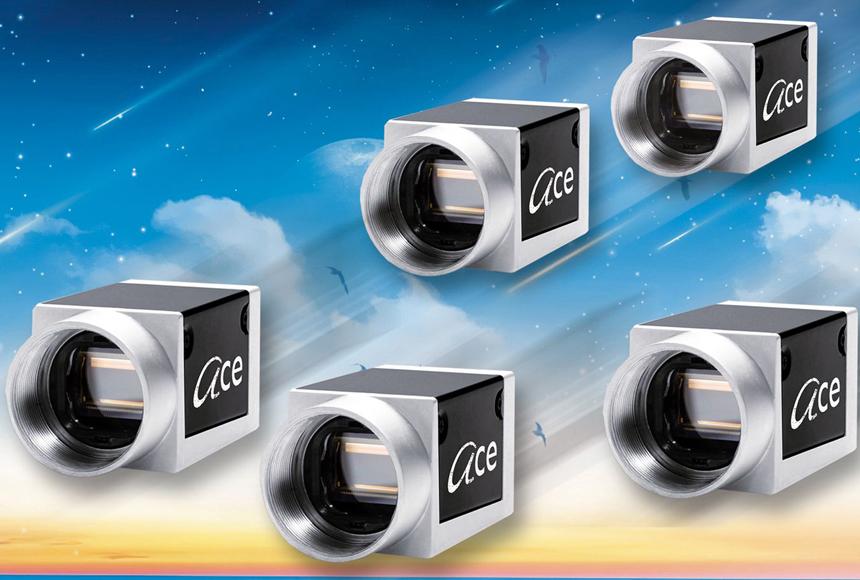 Kamera startklar ins neue Jahr: Rauscher: 1,3 Megapixel und e2v-CMOS-Sensoren