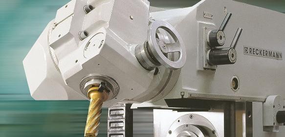 Vertikal-Horizontal-Fräsmaschine: Reckermann zeigt neue 5-Achs-Bearbeitungszentren auf der AMB