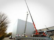 Logistikzentrum: Reiff Logistikzentrum: Neuer Anbau