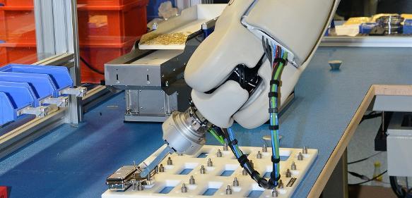 Mobiler Roboter Helmo