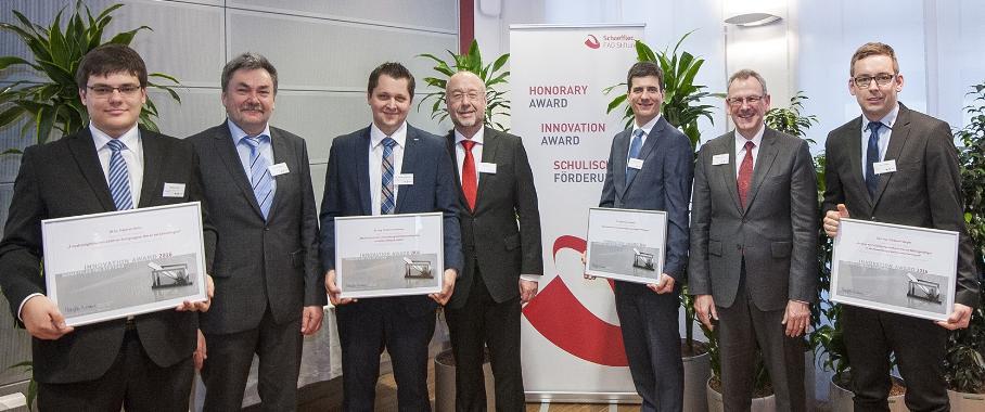 Schaeffler FAG Stiftung ehrt Nachwuchswissenschaftler